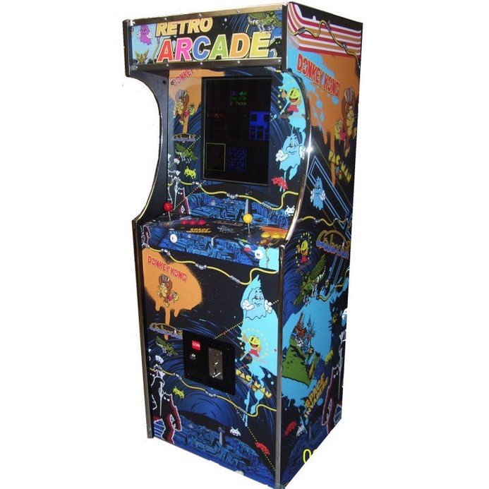 borne arcade upright