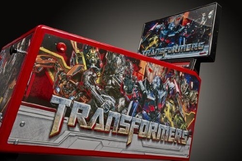 PIN TRANSFORMERS FLIPPER STERN VUE D'ENSEMBLE